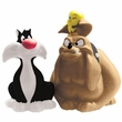 Looney Tunes Sylvester & Hector Salt & Pepper Shakers
