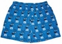 M&M's Blue Character Print Adult Lounge Shorts