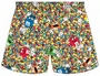 M&M's Character Candy Mix Adult Lounge Shorts
