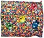 M&M's Colorful Candy Mix Blanket