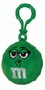 M&M's Green Character Face Plush Clip