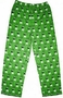M&M's Green Character Print Adult Lounge Pants