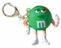 M&M's Light Up Keychain Green
