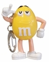 M&M's Light Up Keychain Yellow