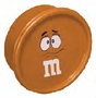 M&M's Orange Character Face Snack Container