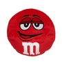 M&M's Red Character Face Plush Beanie Ball