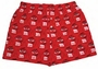M&M's Red Character Print Adult Lounge Shorts