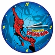 "Marvel Spider-Man 13.5"" Cordless Wood Wall Clock"