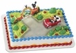 Mickey & Friends Mickey Mouse & Pluto Car Cake Topper Set