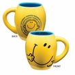 Mr. Men Little Miss Mr. Happy 18oz Oval Mug