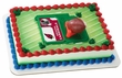 NFL Arizona Cardinals Football & Tee Cake Topper Set