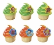 Nickelodeon Bubble Guppies Cupcake Rings 12 Pack