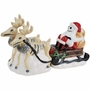 Nightmare Before Christmas Jack & Reindeer Salt and Pepper Shakers
