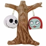 Nightmare Before Christmas Jack & Sally Heads Salt and Pepper Shakers