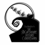 Nightmare Before Christmas Santa Sleigh Hanging Metal Sign