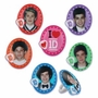 One Direction Band Cupcake Rings 12 Pack