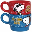 Peanuts Be Who You Want Stackable Mugs