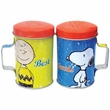 Peanuts Best Friends Tin Salt & Pepper Shakers