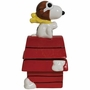 Peanuts Flying Ace on Doghouse Salt and Pepper Shakers