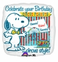 "Peanuts Snoopy Circus 18"" Foil Balloon"