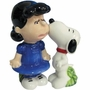 Peanuts Snoopy Kissing Lucy Salt & Pepper Shakers