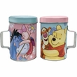Pooh & Friends Piglet & Pooh Tin Salt and Pepper Shakers