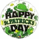 "St. Patrick's Day Derby 18"" Foil Balloon"