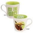 Star Wars Yoda Use the Force 12oz Ceramic Mug