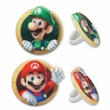 Super Mario Brothers Cupcake Rings 12 Pack