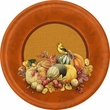 "Thanksgiving Bastin Big Thanks 9"" Lunch Plates 8 Pack"