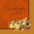 Thanksgiving Bastin Big Thanks Dinner Napkins 8 Pack
