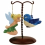 Tinker Bell and Bird on Tree Salt and Pepper Shaker Set