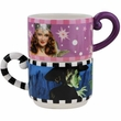 Wizard of Oz Good Witch Or Bad Witch Stackable Mugs Set of 2