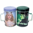 Wizard of Oz Good Witch Or Bad Witch Tin Salt & Pepper Shakers