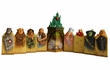 Wizard of Oz Pillar Sculpture 9 Piece Set