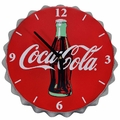 Coca Cola Bottle Cap Clock