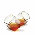 Diamond Shaped Bar Glasses - Set of 2