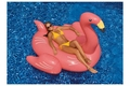 Giant Flamingo Ride On Pool Float