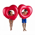 Giant Two Hearts Pool Float
