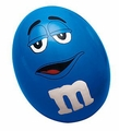 M&M Stress Ball - Blue