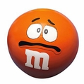 M&M Stress Ball - Orange