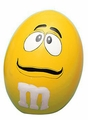M&M Stress Ball - Yellow