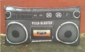 Personalized Boombox Pillow