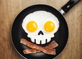 Skull Egg Fryer - Funny Side Up