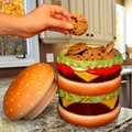 The Cheeseburger Cooke Jar