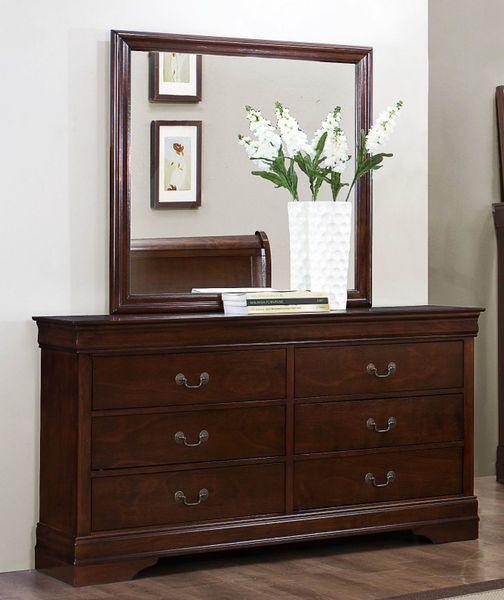 5 PC Bedroom Mayville Twin Size Bed Nightstand Dresser Mirror Chest