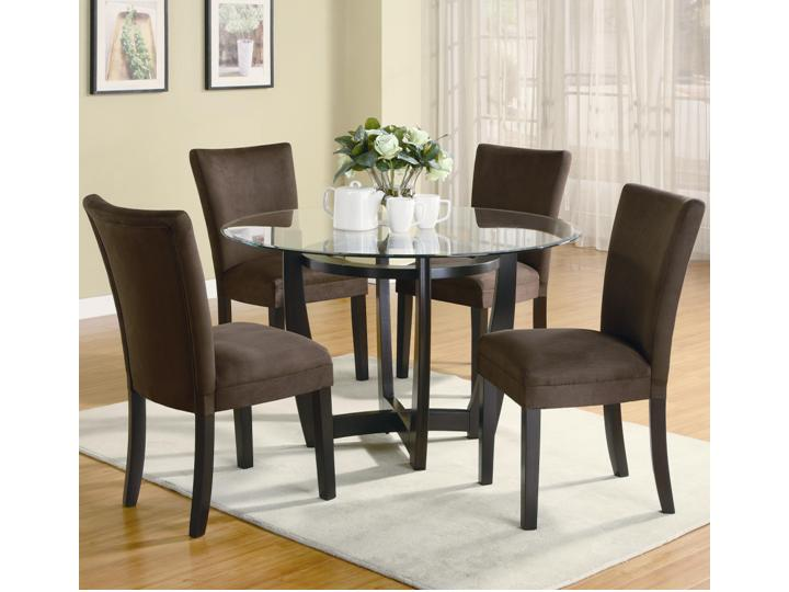 Taupe And Soft Green Fabric For Dining Room Chairs