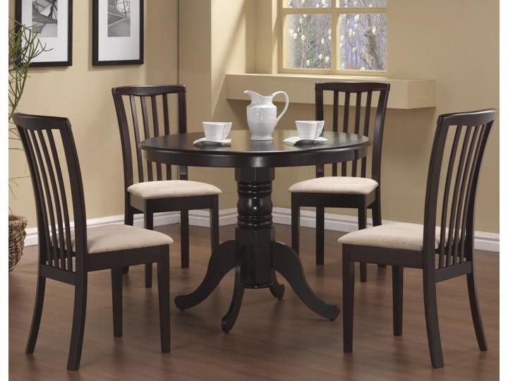 modern 5 pc dining table dining chairs alexandria va furniture stores