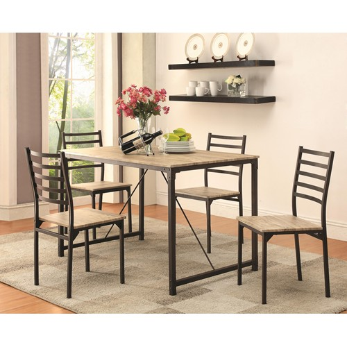 5PC On Sale Dining Room Table 4 Side Chairs Alexandria VA Furniture