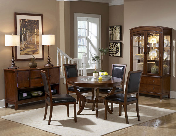 PC Dining Room Collection Furniture Modern VA Stores Table Side